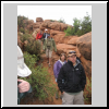 Hiking the Fiery Furnace in Arches